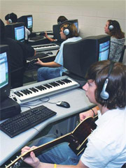 Wayne County High School Guitar Lab