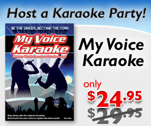 $5 off of My Voice Karaoke Software by eMedia Music
