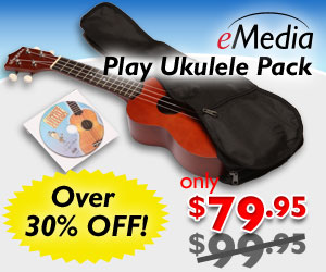 Sale – Over 30% off the eMedia Play Ukulele Pack with Everything You Need to Learn Ukulele by eMedia Music