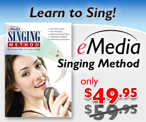 $10 off Singing Method - Learn to Sing Today! by eMedia Music