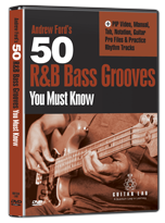 Ukulele For Guitar Players and 50 RnB Bass Grooves You Must Know