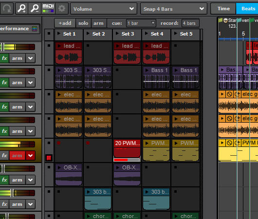 Mixcraft multitrack audio recorder and MIDI sequencing music software