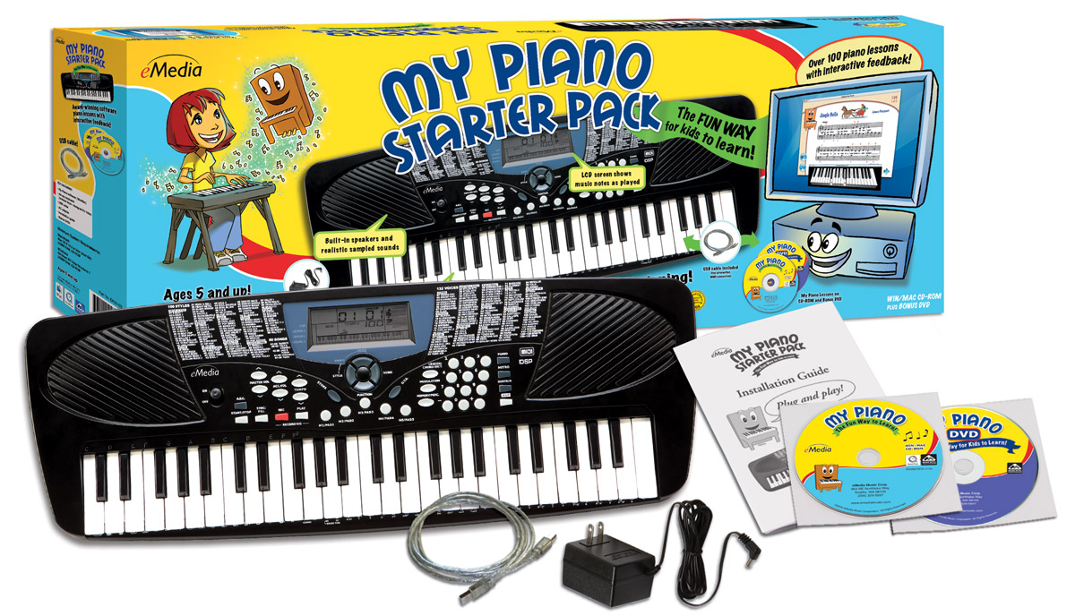 Piano lessons for kids with electronic keyboard and piano ...