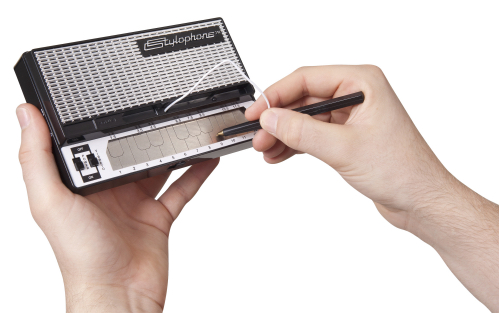 Stylophone retro pocket synthesizer